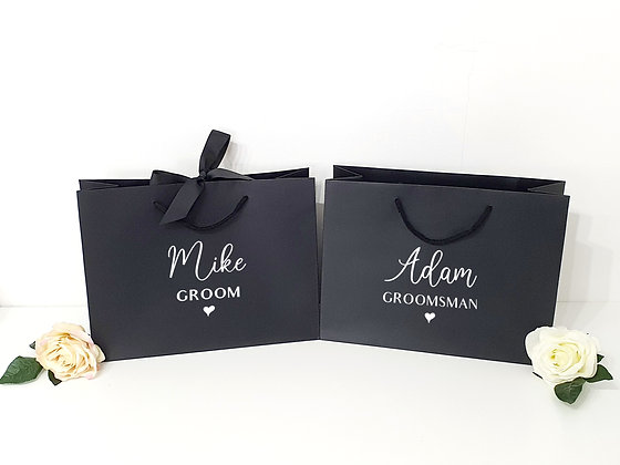 Luxury Grooms Party Favour Bags
