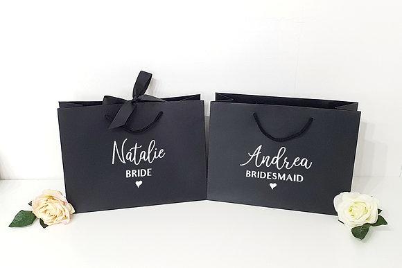 Luxury Bridal Party Favour Bags