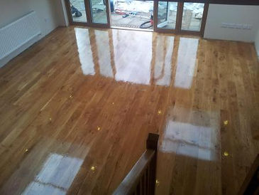 Wood floor sanding newmarket - after sanding and lacquer