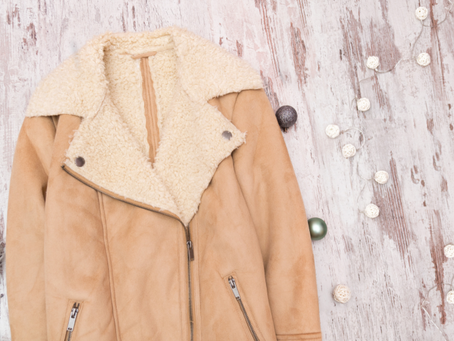 Sheepskin coat and jacket cleaning