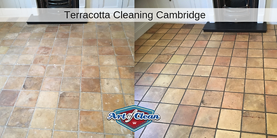 terracotta cleaning and sealing in Cambr