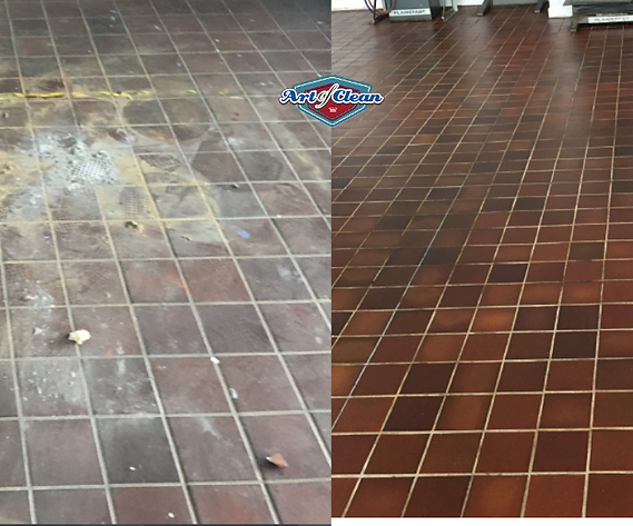 quarry tile cleaning cambridge Art of Cl