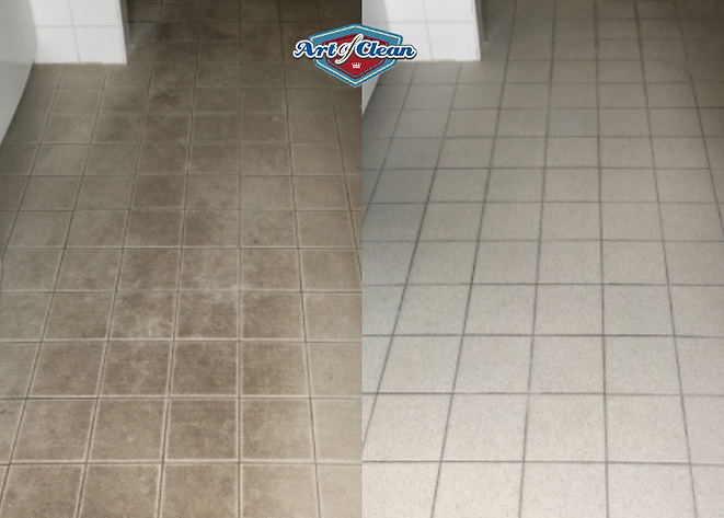ceramic tile cleaning Art of Clean Cambr