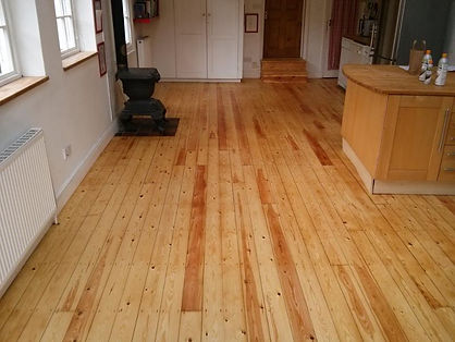 Wood floor sanding newmarket - after sanding and oiling