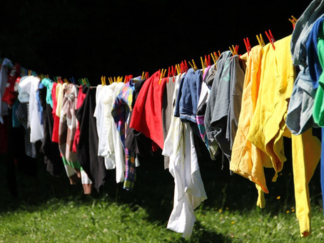 Why cleaning clothes is important in our life?