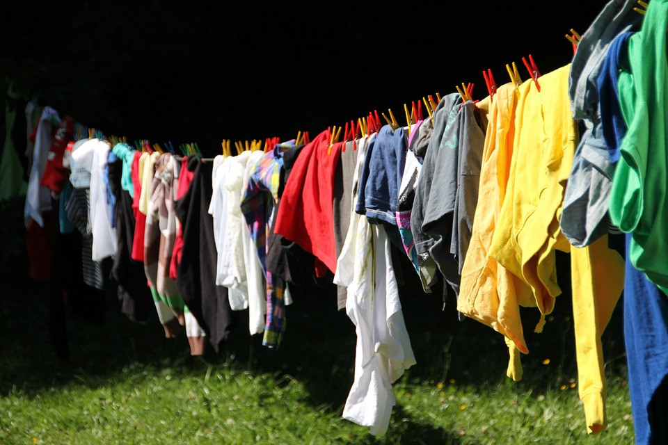 cleaning clothes in Cambridge