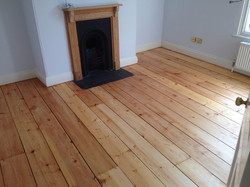 Causway pos-oiling, art of clean, wooden