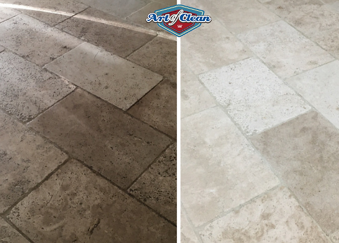 travertine cleaning cambridge art of cle