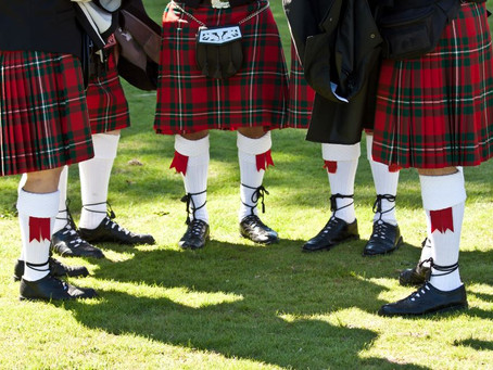 Tartan / Kilts History and How to care for your kilts or Tartan