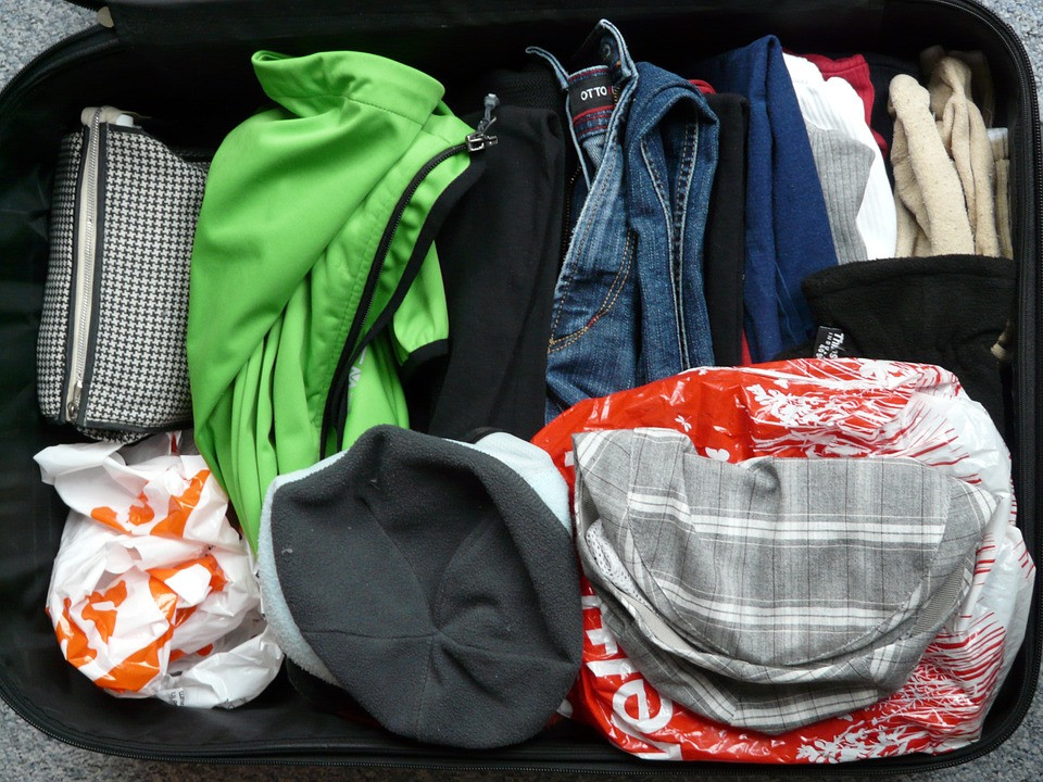 Dry cleaning clothes before storing