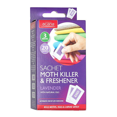 Sachet Moth Killer and freshen