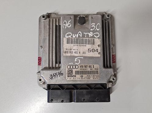 Motorsteuergerät ECU 4F0907401B Audi A6 4F 3.0TDI 0281012270