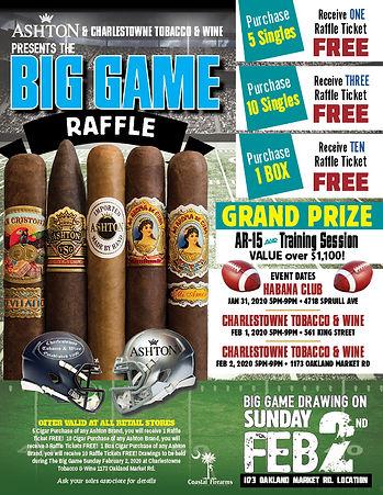 Ashton Cigar event and AR-15 raffle