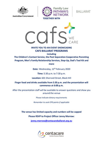 Ballarat FLPN Event Showvase (featuring CAFS)