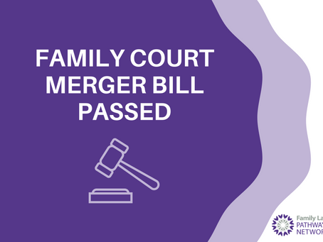 Family Court Merger Bill Passed