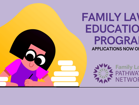Family Law Education Program - Applications now open!