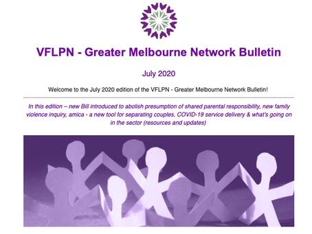 July 2020 - VFLPN - Greater Melbourne Bulletin