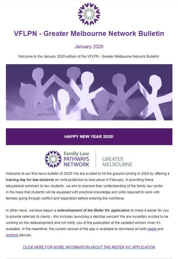 January 2020 Bulletin - VFLPN - Greater Melbourne