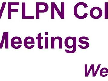Upcoming Collaborative Meetings - Western Suburbs