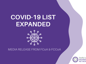 COVID-19 List expanded to help families impacted by pandemic
