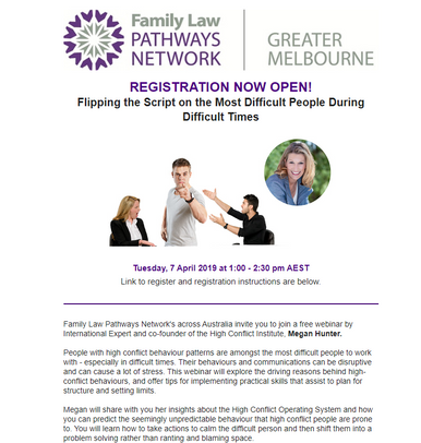 REGISTRATION NOW OPEN: Flipping the Script on the Most Difficult People During Difficult Times