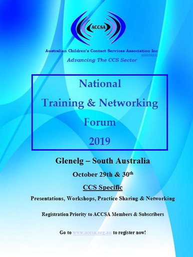 ACCSA National Training & Networking Forum 2019