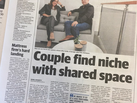 We are in The Gold Coast Bulletin