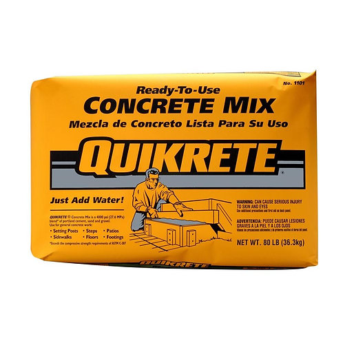 Concrete Mix Quikrete (Bag or Pallet)
