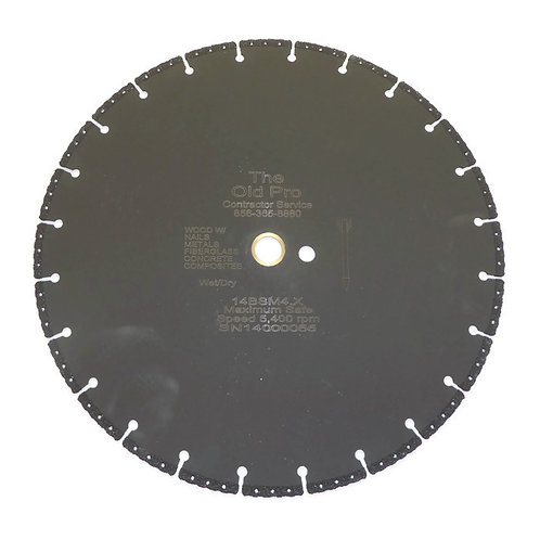 "14"" Diamond Blade 14BSM4.X"