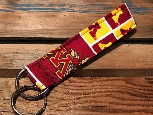 Minnesota Gophers Keychain