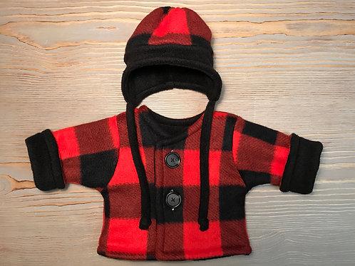 Red-Black Plaid
