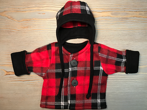 Red-Black Plaid