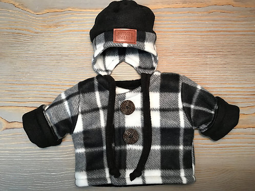Black/Grey Plaid