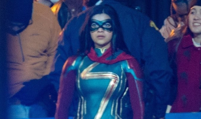 New Look at Ms. Marvel's Full Suit