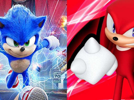 Sonic the Hedgehog Sequel Set Photo Shows First Look at Knuckles the Echidna