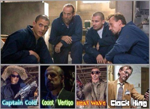 Prison Break Actors in The CW's Arrowverse