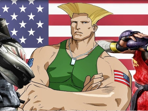 World Fighting Game Characters: The Americas Part 3 United States of America