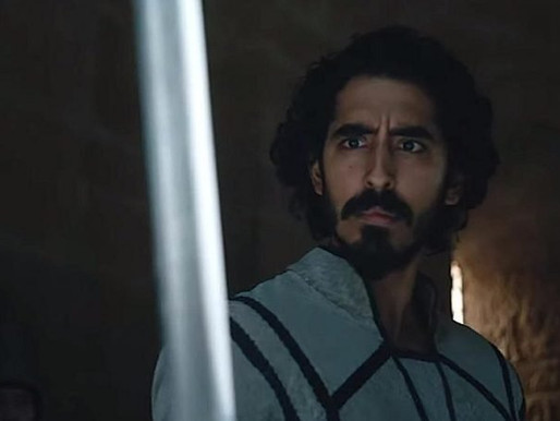 "Dev Patel in Arthurian Epic Film ""The Green Knight"""