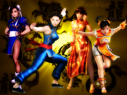 World Fighting Game Characters Asia part 3: Mainland China