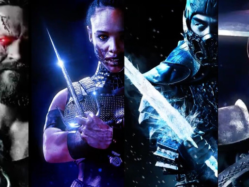 Mortal Kombat 2021 Releases New Character Posters