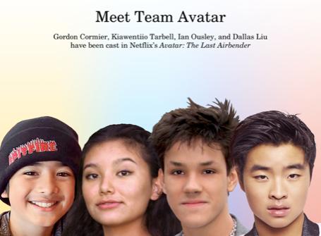 Meet the Potential Team Avatar Cast