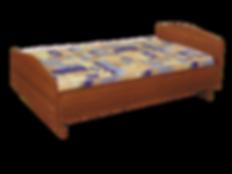 Кровать 1,5 с матрацем