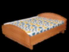 Кровать 2х спальнаяс матрацем