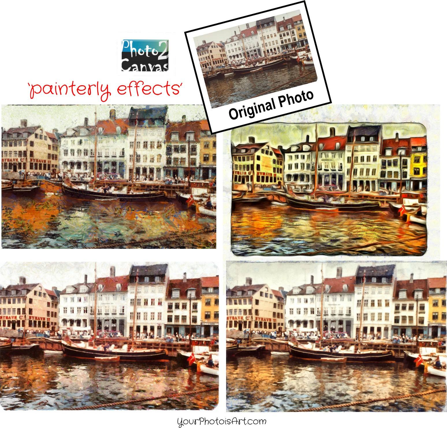 Oil Painterly effect...