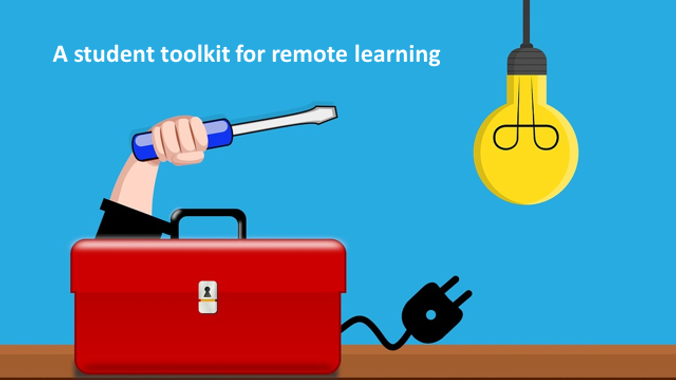 A student toolkit to help you tackle remote learning written by students for students
