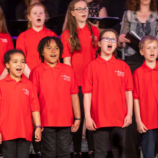 Singfest Young Voices Choir perform in 2019