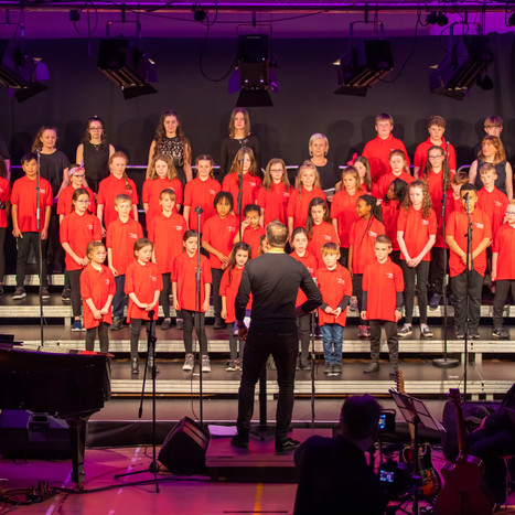 Singfest Choirs perform in 2019