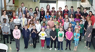 MGOW's regional choirs catering for young singers aged 6 to 19 developed in partnership with the Irish Youth Choir all under the artistic direction of Greg Beardsell.