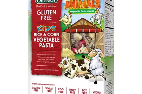 GF Kids Vege Pasta Shapes by Orgran 200g