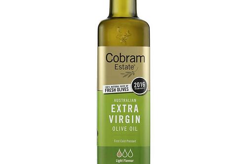 Australian Extra Virgin Olive Oil Light Flavour by Cobram Estate 375ml